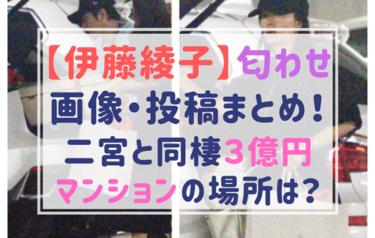 伊藤綾子の匂わせ画像まとめ!二宮が同棲マンション購入で結婚確定?