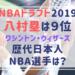 【歴代】日本人NBA選手は誰がいる?八村塁は3人目でドラフト指名の快挙!